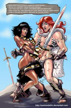 TLIID 174. Conan and Red Sonja, gender swapped. by AxelMedellin