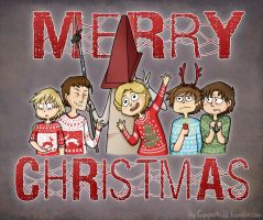 Merry Christmas from Silent Hill by CopperKidd