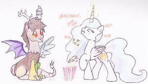 At The Cinema by SJArt117