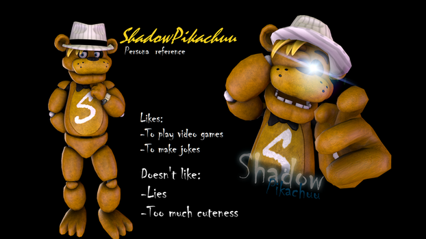 (SFM)New persona [Reference Sheet] by ShadowPikachuu