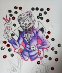king dice by AliceBlueCat