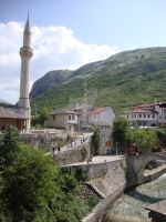 Olt Town of Mostar by soulpacifica