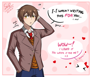 MC x Childhood Friend in a Nutshell by GyleToTheRescue