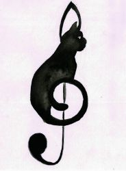 Cat Clef  by peterfrancisfahy