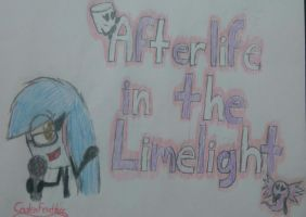 Afterlife in the Limelight - Cover Drawing by CadenFeather