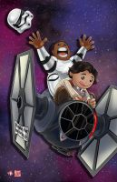 Finn/Poe I Brake for Big Deals by WiL-Woods