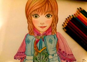 Anna - Frozen by rafaeljbi