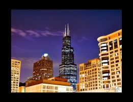 Willis Tower, Chicago IL USA by dx