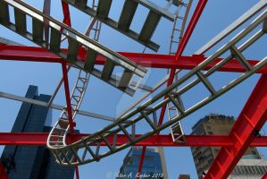 East River Chutes and Ladders  by peterkopher
