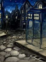 The Tardis - Doctor Who by Jay-R-Took