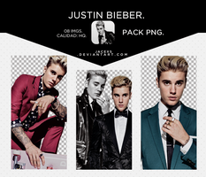 Pack PNG - Justin Bieber #1 by jacexs