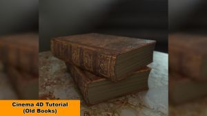 Old Books (Cinema 4D Tutorial) by NIKOMEDIA