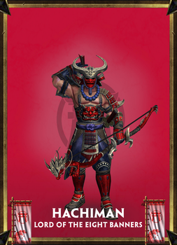 XPS - Smite: Hachiman, Lord of the Eight Banners by Kaiology