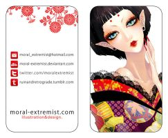 business card by moral-extremist
