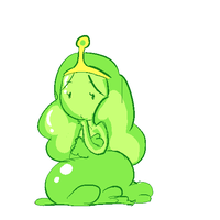 AT: Slime princess by Littlest-Mandingo