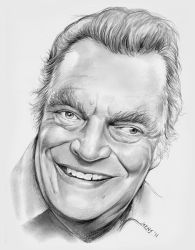 Jack Elam by gregchapin