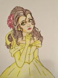 Belle WIP 3 by Diamond-Master