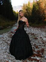Black Dress 5 by Kuoma-stock
