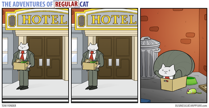 The Adventures of Regular Cat - Accommodation by tomfonder