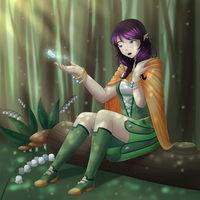 Deep Forest by SxLizzy