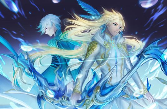 ToZ: ao no yonren by avodkabottle