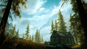 Anise's Cabin - Skyrim by WatchTheSkies45