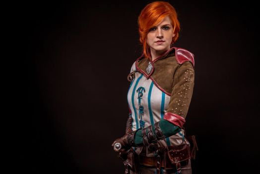 Triss Merigold - Witcher 2 by MadameSkunk