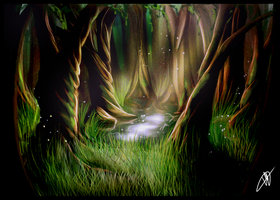 Forest by HTivey