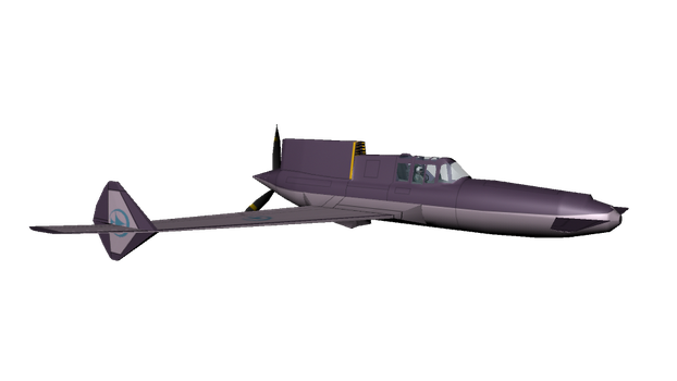 Curtiss Whright XP-55 Ascender by Kira-SR