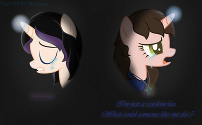 I'm Just A Fan... (Feels Vent) by TheTARDISMistress