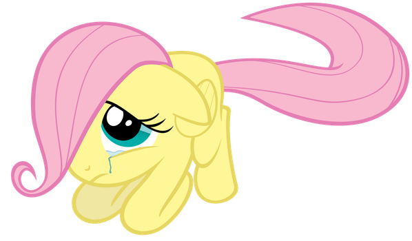 Don't cry Filly Fluttershy by ExiBrony