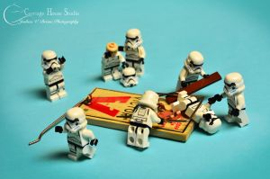 Lego Stormtroopers - No One Ever Listens to Ackbar by Jbressi