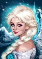 Cold Never Bothered Me Anyway by FidisART