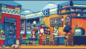 Cafe by noaqh