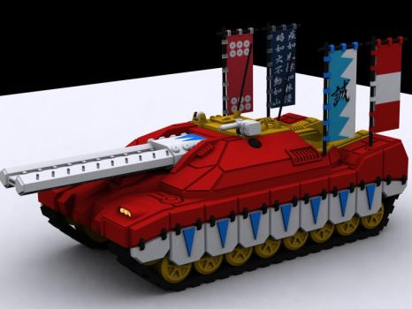 StuG-X AFE Assault Gun - Sensha-do Edition by dsherratt74