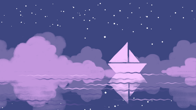 Midnight Sea by tintotet