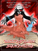 Bloodstain Symphony OCT - The Troubadour Poster by Saragonvoid