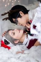 Victuuri Christmas ~ by rielzcos