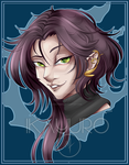 FanBadge - Obcasus Oblis [Art Only] by Ikayuro-Arts
