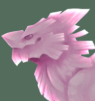 Rose Quarts Dragon by wingedwolf94