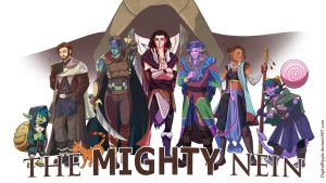 CriticalROLE Campaign 2 - The Mighty Nein by DigitalRipple