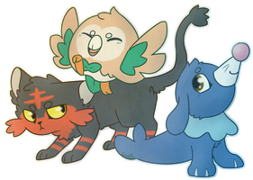 So how bout those new starters by Luckoon