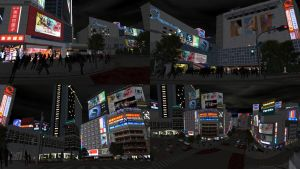 DOA5 Stage Scramble Tokyo by rolance