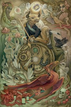 Wheel of Fortune by Heather Watts by STF-Wooly