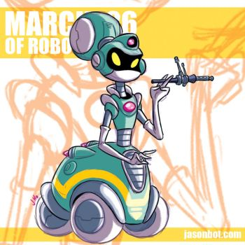 March of Robots 2018 26 by jasonhohoho