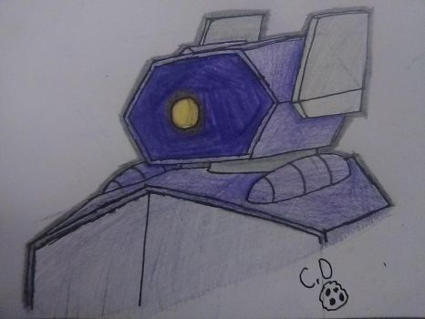 Daily Doodles #4: Shockwave by cookiedragon202