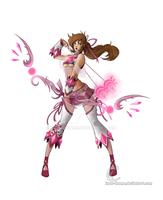 Pink ranger, a concept by Know-Kname