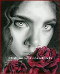 Ghost of a Rose by Katerina-Art