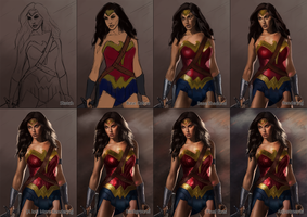 Wonder Woman - Step-by-Step by Ode-Chan