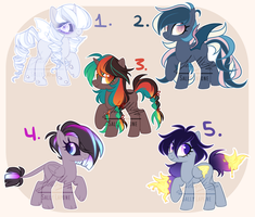 ADOPTABLE SALE! #3 [1/5 OPEN] by SallyLapone